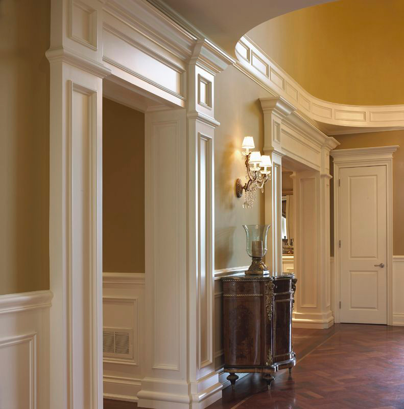 Custom Trim - Specialty items, Shaped Window, Trims Finished Grade Plywoods at Designer Showcase.