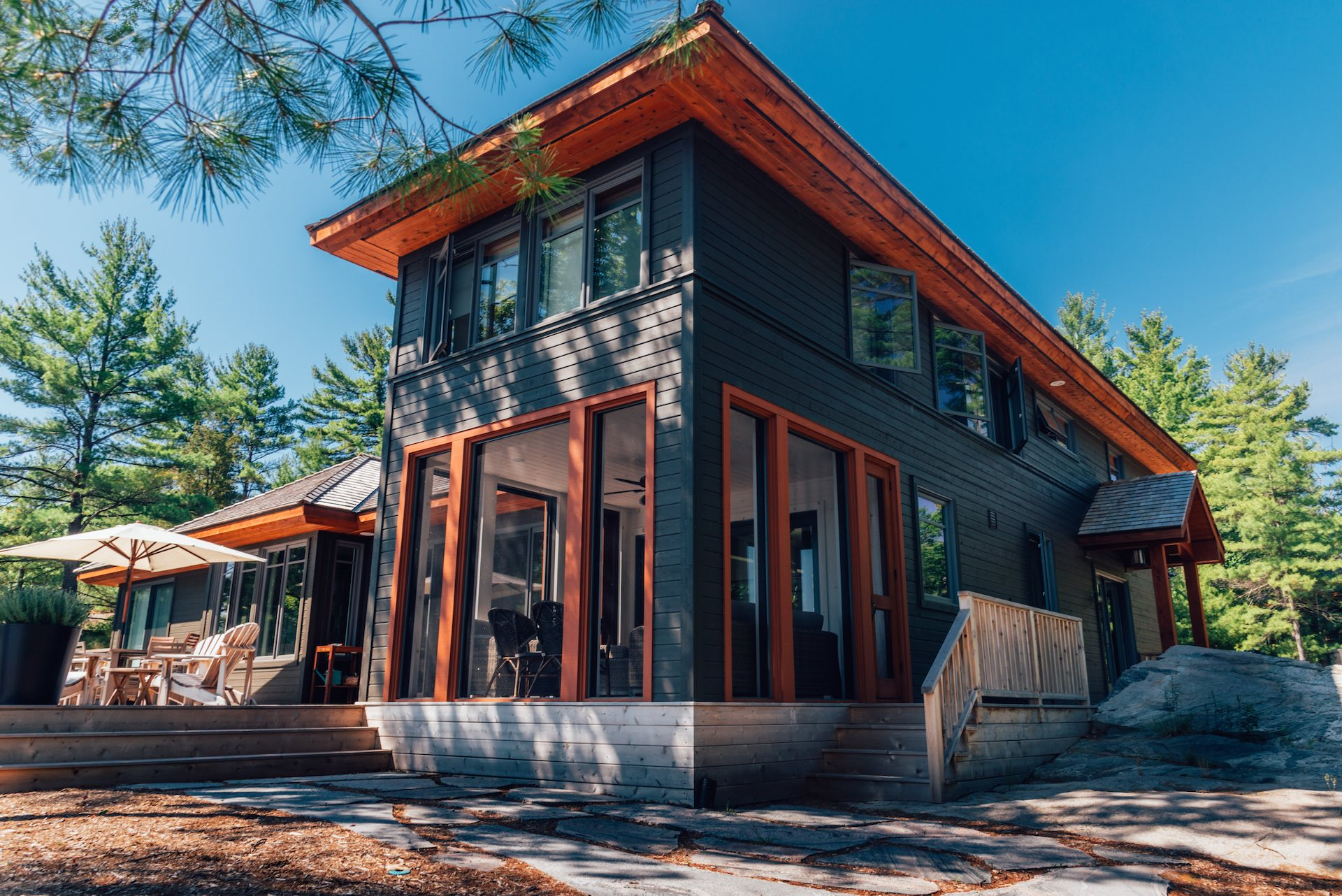 Ostaco Windows - quality windows and doors with high-performing modern window, traditional wood windows at Designer Showcase by Turkstra Lumber.