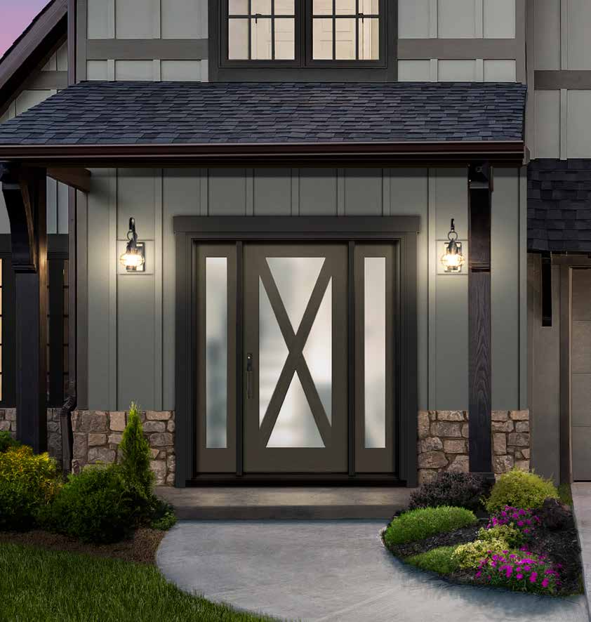 Exterior Doors - Therma-Tru classic or contemporary, fiberglass door looks and feels like real wood. Visit our showroom in Stoney Creek today at Turkstra Lumber.