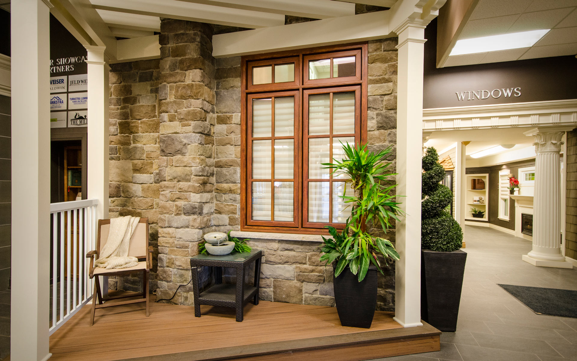 Designer Showcase - Visit our showroom to view trims, doors, windows, columns, decks or speak with a consultant by Turkstra Lumber.