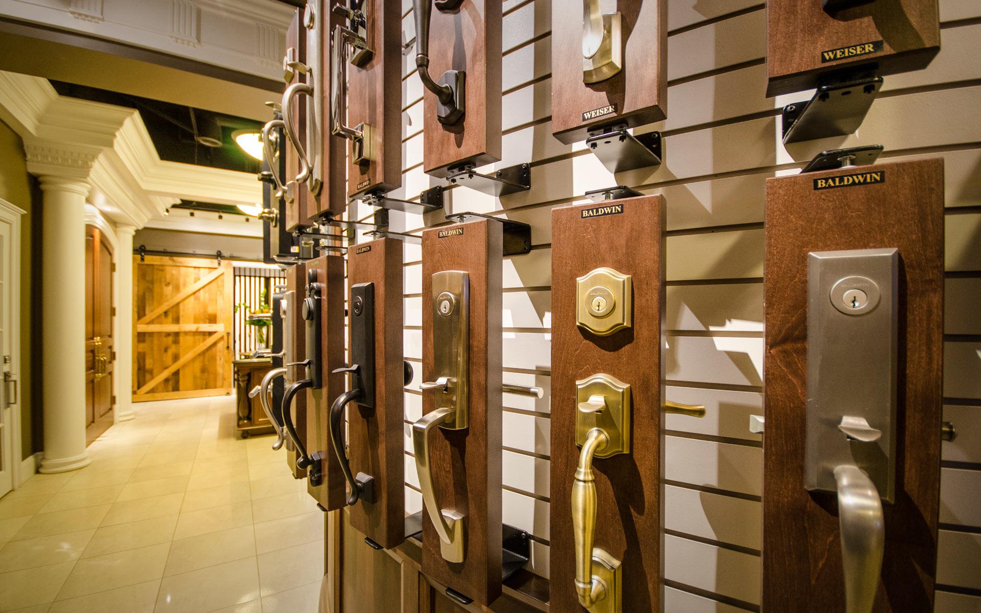 Door Hardware - decorative builders hardware, speciality hardware or barn door track hardware at Designer Showcase powered by Turkstra Lumber.