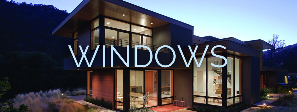 Windows - production and installation of a complete selection of standard and fully custom windows at Designer Showcase.