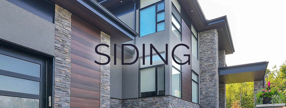 Siding - variety of wood, vinyl, Aluminum, engineered, fiber cement, steel and stone siding at Designer Showcase by Turkstra Lumber.