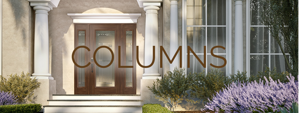 Columns - architectural elements which can serve a functional purpose at Designer Showcase by Turkstra Lumber