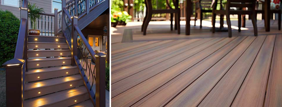 Decks - at the Designer Showcase offers the very best in cedar, pressure treated and composite decking by Turkstra Lumber.