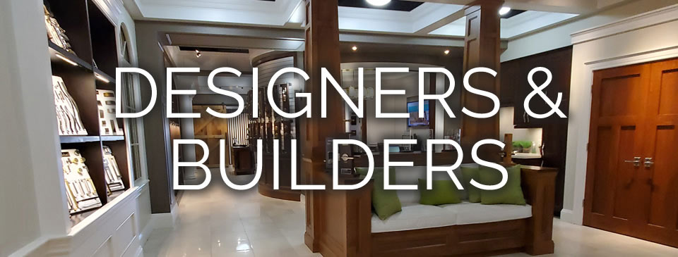 Designers, Builders and Architects - Doors and Trims at the Designer Showcase here at our Stoney Creek location.