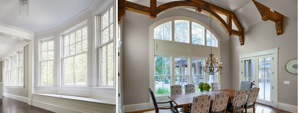 Windows - Replacement windows in Vinyl, Wood, Aluminum at Designer Showcase by Turkstra Lumber.
