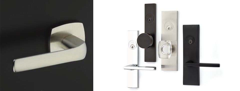 Door Hardware - Sleek and modern or detailed and traditional such as Schaub, Weiser, Taymor at Designer Showcase by Turkstra Lumber.