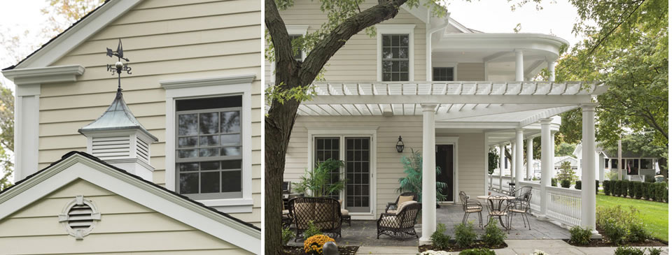 Siding - effective ways of updating the look and adding curb appeal at Designer Showcase by Turkstra Lumber.