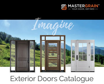 Mastergrain Exterior Doors Idea Book